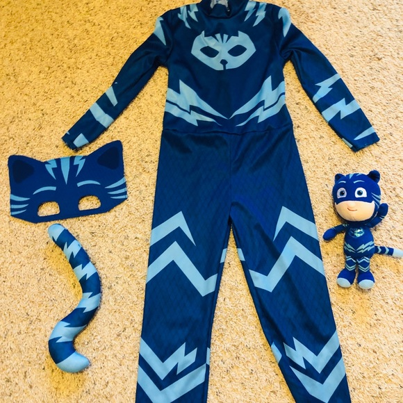 Other - PJ MASKS CATBOY COSTUME 4-6 & CATBOY BEAN PLUSH